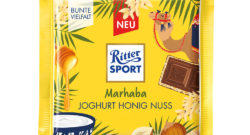 Bar of Ritter Sport Marhaba chocolate