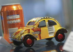 Toy - car made of cans
