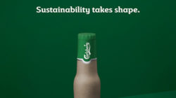 Carlsberg's paper beer bottle