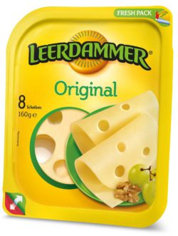2014 SilverPack Award winner: Leerdammer offers a customer-friendly solution for opening and re-closing. © SilverPack